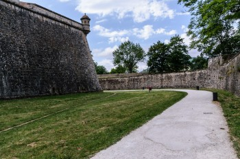 Pamplona's old city walls