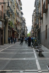 City street, Pamplona