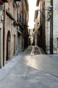 Evening, street in Viana