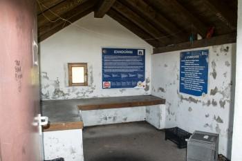 Interior, mountain hut shelter