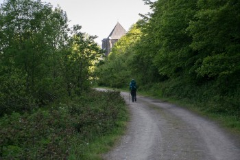 Approaching Roncesvalles