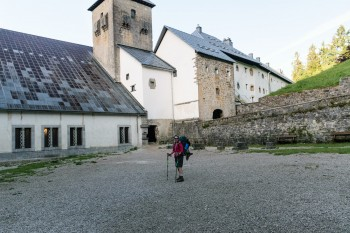 Leaving Roncesvalles on our second day