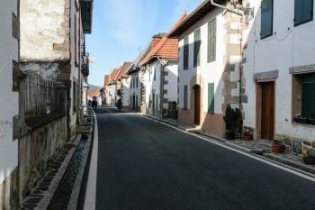 Trail through Burguete
