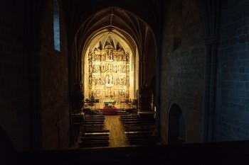 Interior, Church of St. John the Baptist, Granon