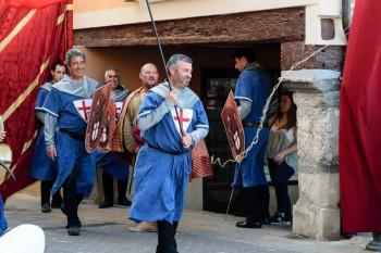 Belorado's medieval fair pageantry