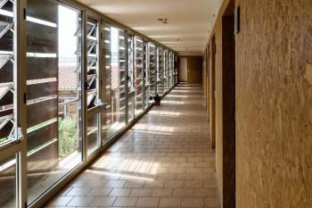 Albergue hallway