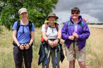 Vera, Araceli, and Kirstin