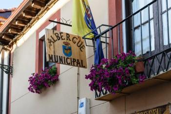 Albergue where we stayed in Mansilla de las Mulas