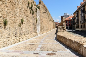 Old city wall, Leon