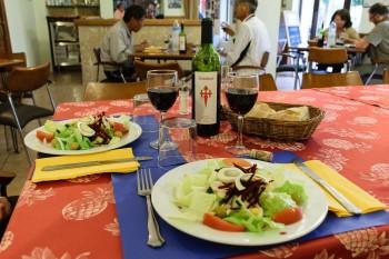 Dinner in Castrojeriz