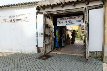 Albergue where we stayed in Boadilla del Camino