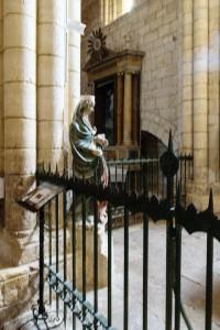 Interior, Iglesia de Santa Maria la Blanca, Villalcazar de Sirga