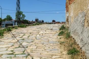 Trail into Astorga
