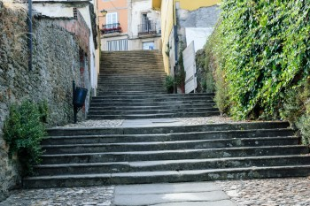 The Pilgrim Steps (Escalinata Maior) of Sarria