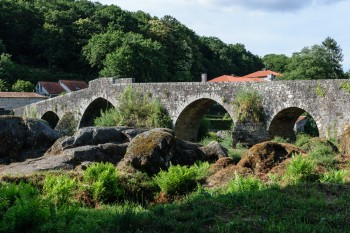 Pontemaceira (along the trail to Finisterre)
