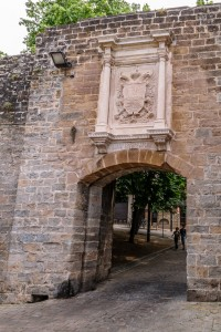 Old city gate, Pamplona