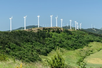 Wind turbines of Alto del Perdon