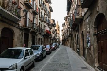 Streets of Puente la Reina