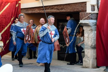 Belorado's medieval fair pageantry
