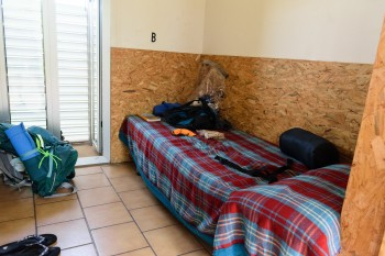 Albergue (double) rooms