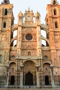 Sunset light, Catedral de Santa María de Astorga