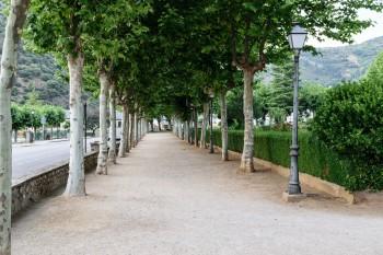 City garden in Villafranca del Bierzo