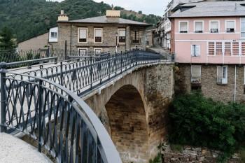 Puente rio Burbia, Villafranca del Bierzo