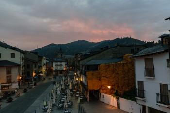 Early morning, leaving Villafranca del Bierzo