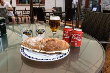 Lunch stop in Herrerias