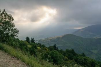Evening, O'Cebreiro