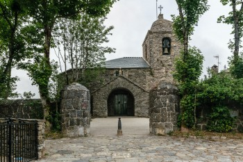 The Church of St. Mary, O'Cebreiro