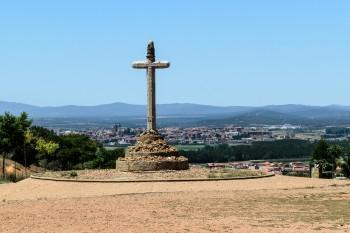 View of Astorga ahead