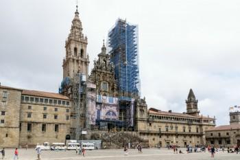 Praza do Obradoiro and Santiago Cathedral