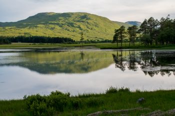 Loch Tulla from the road into the Fleming Estate
