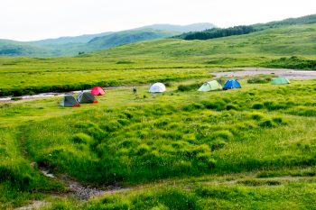 Campsite, evening, near Inveroran