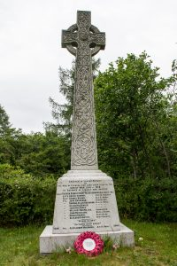WW I Memorial, Glencoe