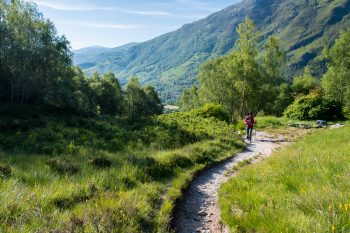 Trail out of Kinlochleven