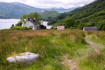 Abandoned homesite, Loch Lomond
