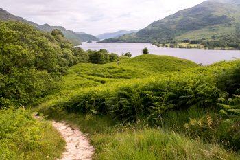 Leaving Loch Lomond