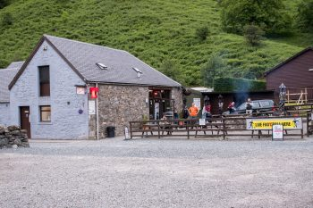 Restaurant/bar at Beinglas Farm, Inverarnan