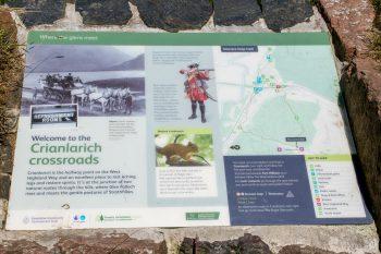 Trail junction to Crianlarich